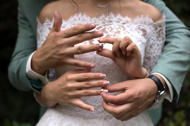 un mariage dans le morbihan passage d'alliance